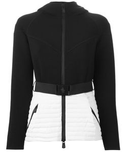 Moncler Grenoble | Two-Tone Belted Zip Jacket