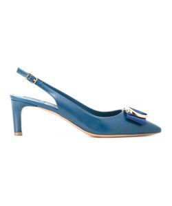 Salvatore Ferragamo | Slingback Kitten Heels Size 6.5