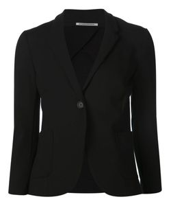 Getting Back To Square One   Single Button Blazer
