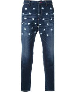 Education From Youngmachines | Star Print Straight Leg Jeans