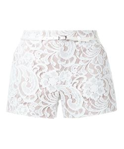 Loveless | Lace Belted Shorts