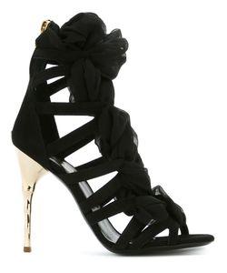 Balmain | Sheer Detail Strappy Sandals
