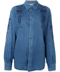 Moschino Vintage | Embroidered Denim Shirt