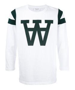 Wood Wood | W Print Sweatshirt Xl Cotton