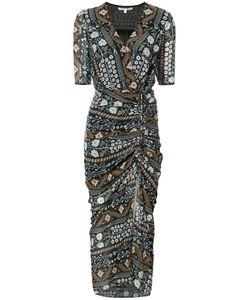 Veronica Beard | Patterned Wrap Dress