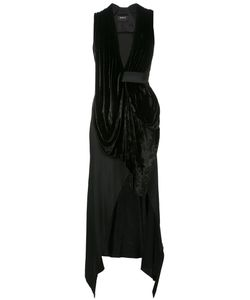 Kitx | Draped Plunge Dress Size 10