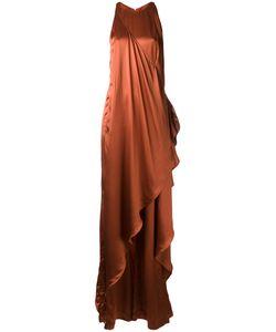 Balmain   Satin Gown 38