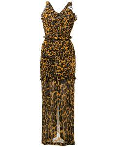 Alessandra Rich | Leopard Print Dress