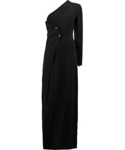 Ann Demeulemeester | Double Breasted One Shoulder Dress Size