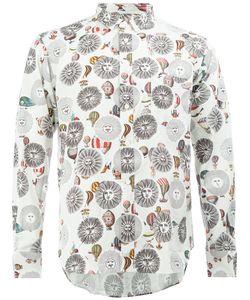 Comme Des Garçons Homme Plus   Printed Shirt Size Medium