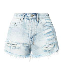 Ksubi   Distressed Denim Shorts 26