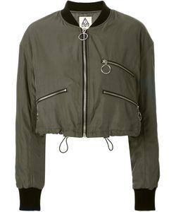 Unif | Cropped Bomber Jacket