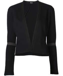Musée | Sheer Panel Crop Jacket Large