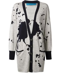 Jonathan Cohen | Intarsia Knit Cardi-Coat