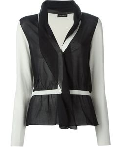 Lutz Huelle | Panelled Sheer Cardigan