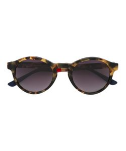 Linda Farrow | Tortoiseshell Round Sunglasses Metal Other