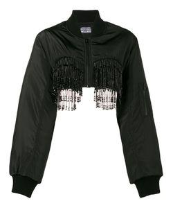 Ashley Williams | Beaded Bra Bomber Jacket