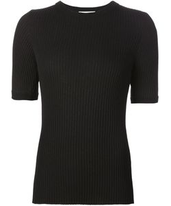 Beau Souci | Ribbed Short Sleeve Sweater