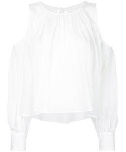 Le Ciel Bleu | Cut Out Shoulder Shirt Women
