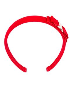 Salvatore Ferragamo | Bow Embroidered Hair Band