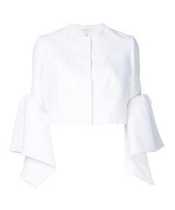 Delpozo | Frilled Cuffs Cropped Jacket