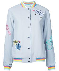 Mira Mikati | Embroidered Bomber Jacket
