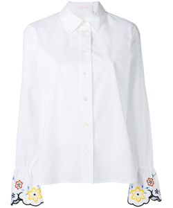 See by Chloé | Embroidered Cuff Shirt Size 34