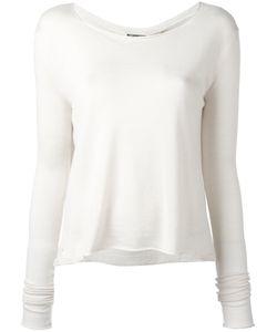 Kristensen Du Nord | Scoop Neck Cropped Sweater Size