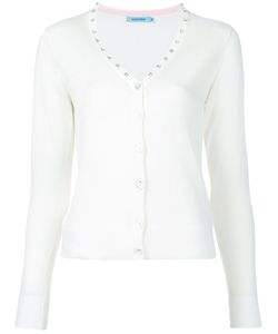 Guild Prime | Diamanté Studded V-Neck Cardigan
