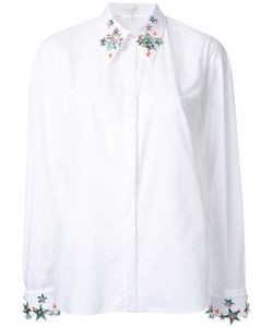 Delpozo   Embellished Stars Shirt 38 Cotton
