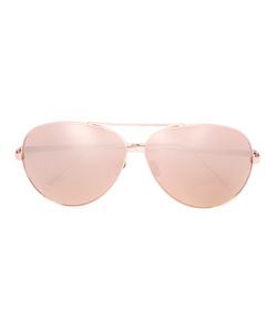 Linda Farrow | Aviator Sunglasses One