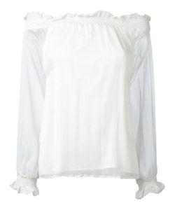 P.A.R.O.S.H. | P.A.R.O.S.H. Off-The-Shoulder Blouse Size Xs