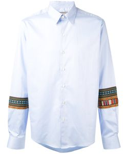 Casely-Hayford   Embroidered Sleeves Shirt S