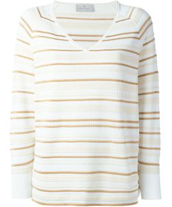 Maison Ullens | Striped V-Neck Sweater