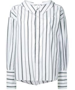 G.V.G.V. | G.V.G.V. Striped Bow Detail Shirt Women