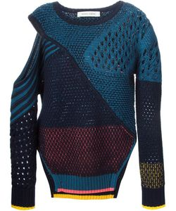 Linda Farrow Gallery | Cut Out Shoulder Sweater