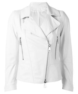 Sylvie Schimmel | Biker Jacket With Tone Zippers 40