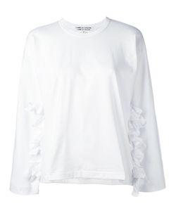 Comme Des Garçons Comme Des Garçons   Frilled Detail Sweatshirt