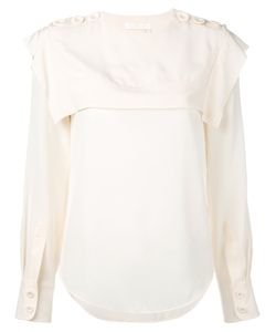 Chloé | Sailor Collar Blouse 38