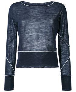 Dondup | Piping Detailing Longsleeved T-Shirt