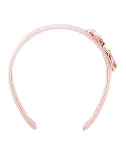 Salvatore Ferragamo | Grosgrain Headband Cotton/Rayon/Plastic/Brass