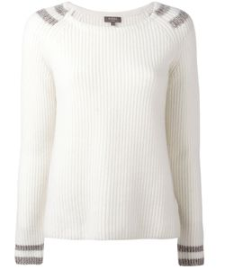 N.Peal | Contrast Jumper Size Small