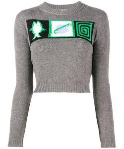 Miu Miu | Intarsia Sweater Size 44