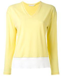 Fabiana Filippi | V Neck Contrast Sweatshirt