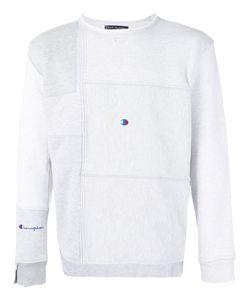 Longjourney | Patchwork Sweatshirt L