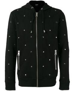 Just Cavalli | Star Stud Hooded Sweatshirt Size Small Cotton/Metal
