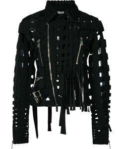 Comme Des Garçons Noir Kei Ninomiya | Cut-Out Biker Jacket
