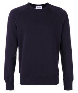 Harmony Paris | Distressed Collar Sweatshirt Size Large