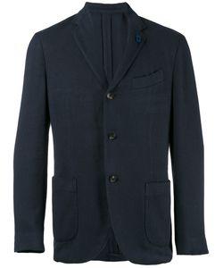 Lardini | Three Button Blazer Size