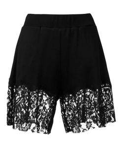 Mm6 Maison Margiela | Lace Trim Shorts Size Medium